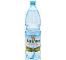 """Вода питьевая """"Берегиня"""" 1.5л. газ 6 шт."""